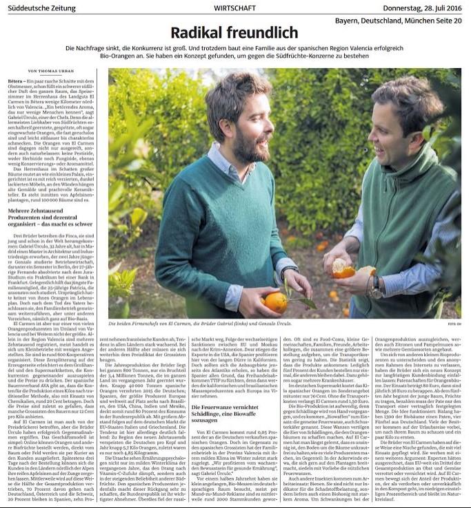 Süddeutsche Zeitung (2016-07-28)