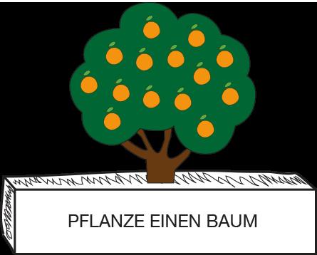 EINEN BAUN PFLANZEN