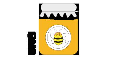 Colmena pequeña<br>4kg de miel de azahar