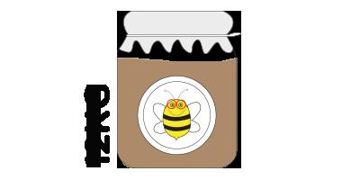 Colmena grande<br>12kg de miel de montaña