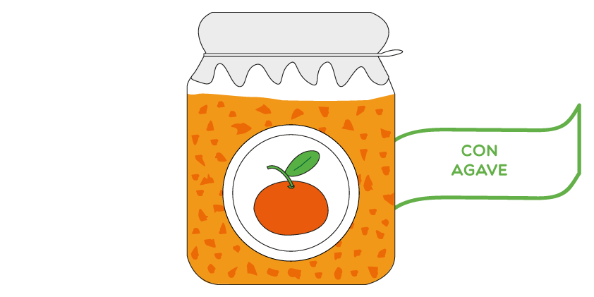 Clementine jam<br>with agave (420g)