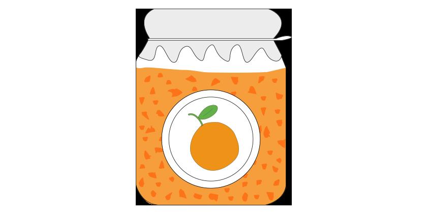 Orange jam<br>(420g)