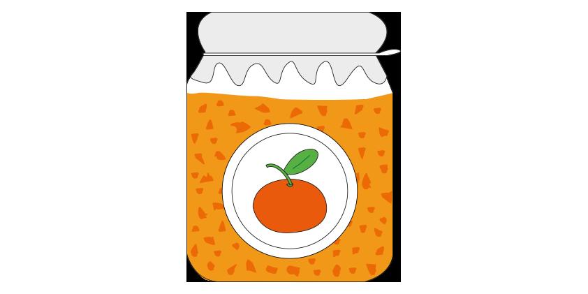 Clementine jam<br>(420g)