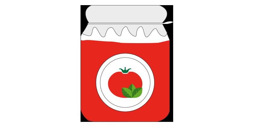 Tomate triturado con albahaca (650gr)
