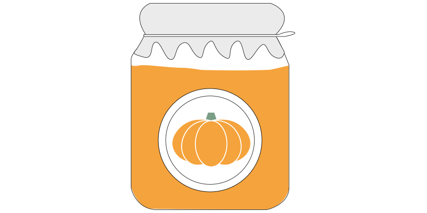 Pumpkin cream with rosemary<br>(650gr)